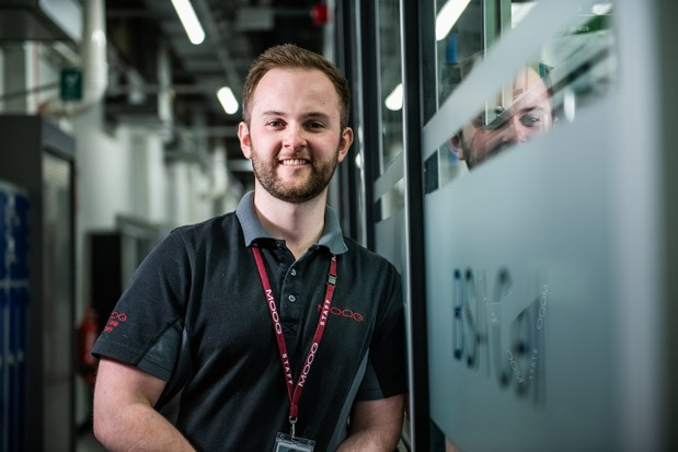 Tom Wallis, Engineering Apprentice at Moog Aircraft Group