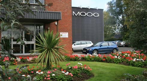 Moog Aircraft Group in Tewkesbury, Gloucestershire