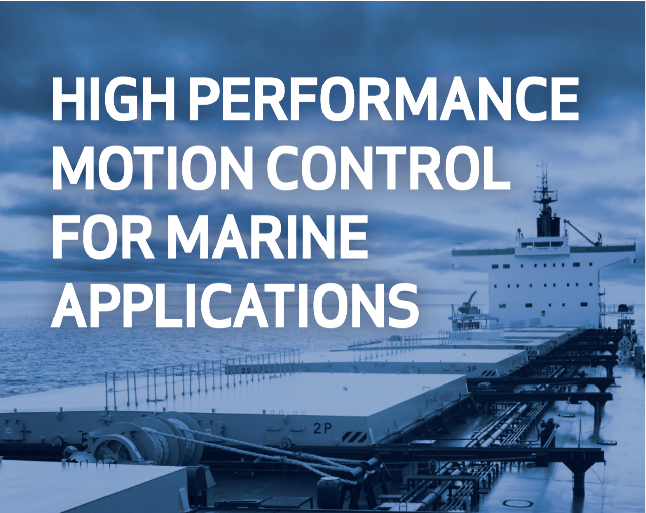 Moog's motion control solutions for the marine industries