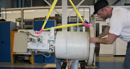 Gas and electric turbine actuator repair at Moog's Tewkesbury facilities